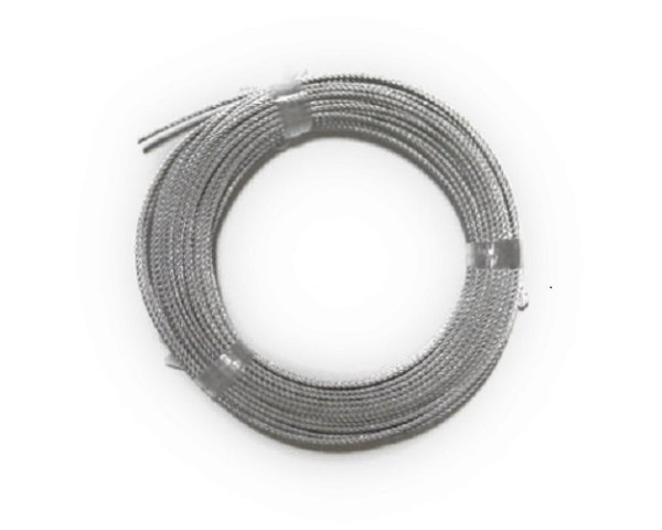 画像1: ワイヤーロープ(油抜) 5ミリ 6×19 100m【送料無料】 (1)
