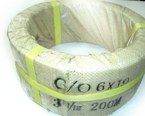 画像1: ワイヤーロープ(油抜) 3ミリ 6×19 200m【送料無料(一部地域除く)】 (1)
