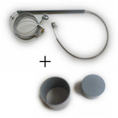 画像1: パイプ筒セット