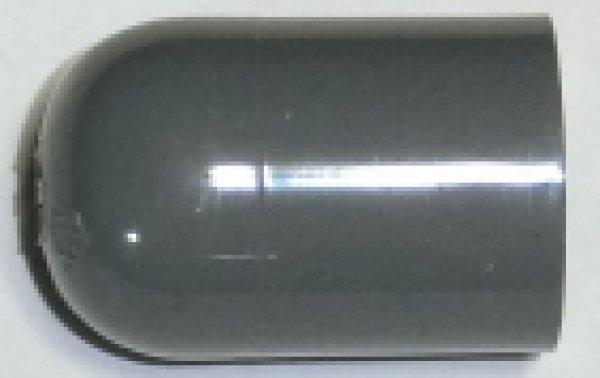 画像1: 塩ビVPキャップ13穴明加工済 (1)